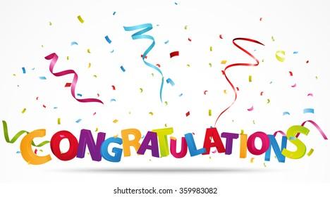 Congratulations Images Stock Photos Amp Vectors Shutterstock