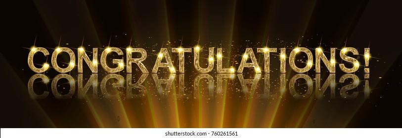 Congratulations Gold Banner.