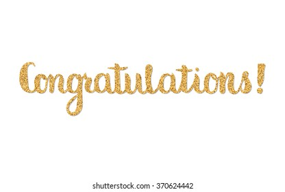 Congratulations. Hand lettering/Hand drawn quote lettering/inspirational phrase/modern calligraphy/lettering/phrase/Hand drawn modern calligraphy/brush calligraphy/quote lettering/gold
