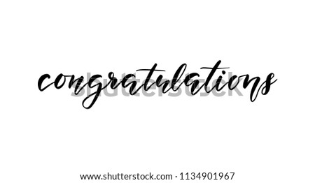 congratulations template banners cards posters prints stock vector