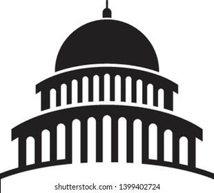 Congress logo template vector icon design