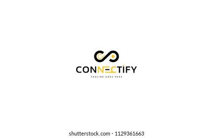 Connect 2 vector logo