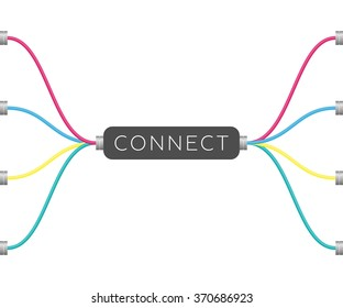 Connect | EPS10 Vector