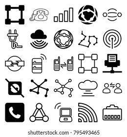 network plug icon stock images royalty free images vectors Wi-Fi Router connect icons set of 25 editable filled and outline connect icons such as no plug