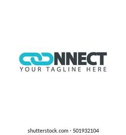 Connect Logo Design Template