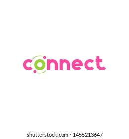 Connect Logo Design Template Element.