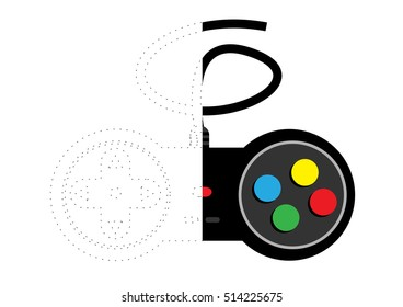 Connecting Dots and Coloring Joystick