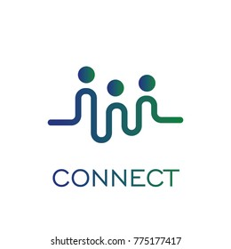 connection logo for business