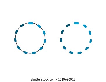 Connection Network Vector Illustration design symbol sign  abstrac