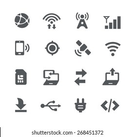 Connectivity Icons // Apps Interface