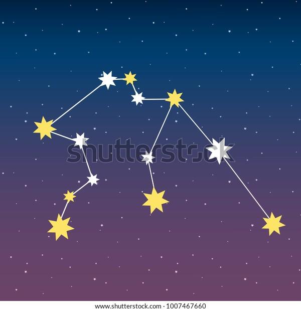 Constellation Aquarius Zodiac Horoscope Astrology Stars
