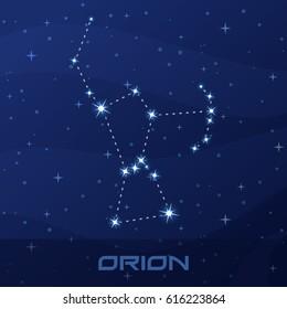 Constellation Orion, Hunter