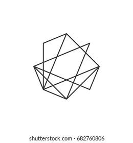 Constellation Star Logo Template Illustration Design. Vector EPS 10.