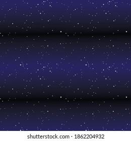 Constellation stars space seamless pattern
