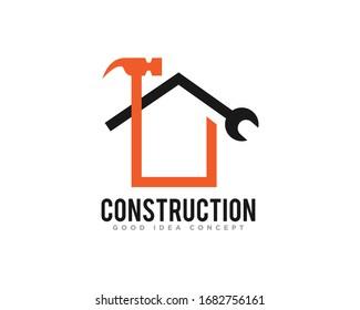 Construction Building Logo Icon Design Vector