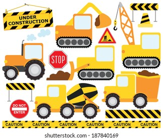 Construction Crew / Construction Vehicles