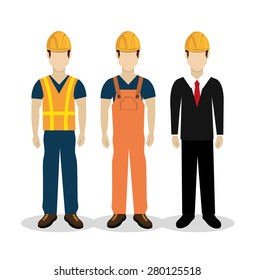 Construction design over white background ,vector illustration.
