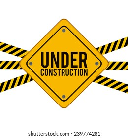Construction design over white background,vector illustration.