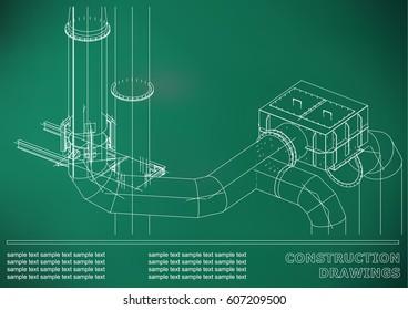 piping diagram ship