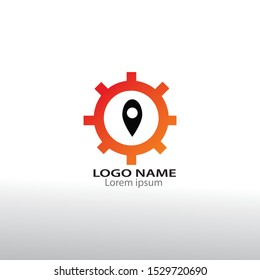 construction and engineering logo design - vector
