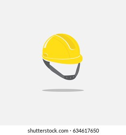 Construction Helmet Icon. Hard Hat Icon. safety hard hat icon