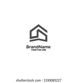 construction logo template vector