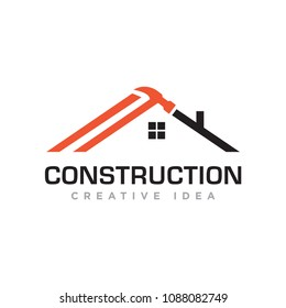 Construction logo vector
