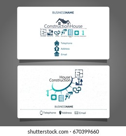 Construction and maintenance of the house business card business