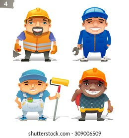 Construction professions set-2