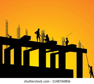 construction project workers