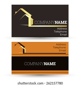 Construction and sale of housing, business card business