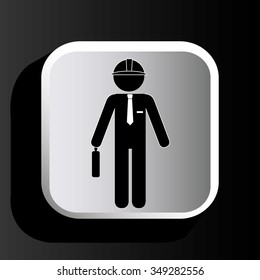 Construction and tools graphic design, vector illustration eps10