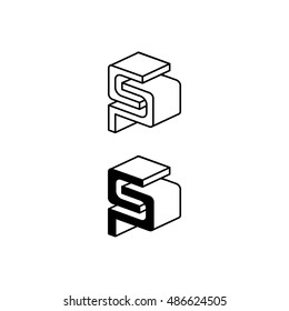 Construction Vector Template for Company Logo Design