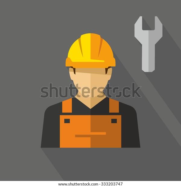 Bauarbeiter Vektor