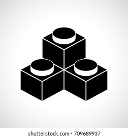 constructor, building block, icon