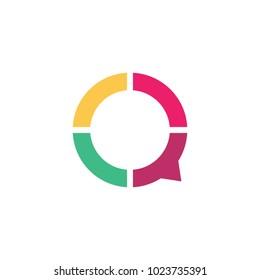 Consult chat logo design