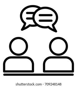 Consultant Vector Icon