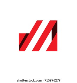 consulting red logo template