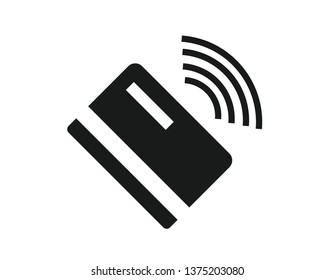 contact less payment icon