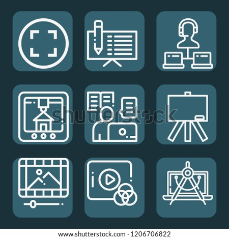 Contains Such Icons Laptop Model Online Stock Vector