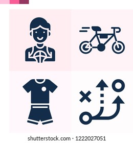 Contains such icons as strategy, bicycle, football jersey and more 1000x1000 pixel perfect.