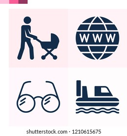 Contains such icons as worldwide, eye glasses, hovercraft and more 1000x1000 pixel perfect.
