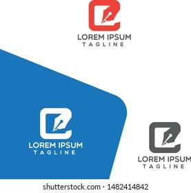 Content writing company logo Template