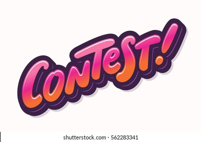 Contest! Lettering.