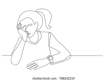 Sad Person Cartoon High Res Stock Images Shutterstock