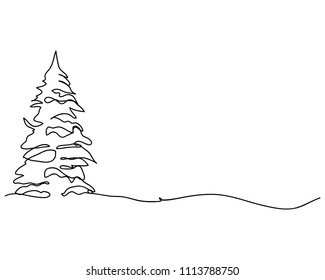 Drawing Of A Christmas Tree.Christmas Tree Drawing Images Stock Photos Vectors