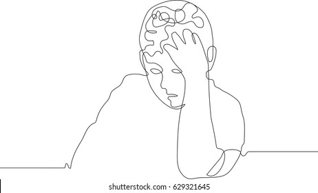 Vector Man Sneezing Stock Vector Royalty Free 1181837284