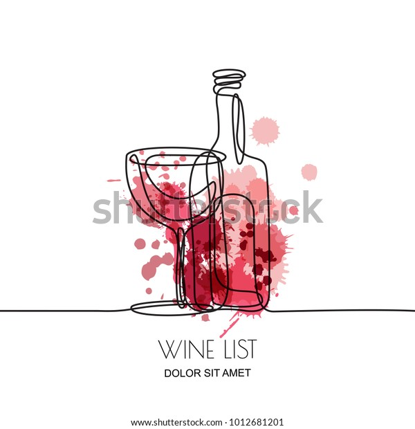 Immagine Vettoriale Stock 1012681201 A Tema Disegno A Linee