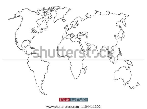 world map stencil free - Kozen.jasonkellyphoto.co