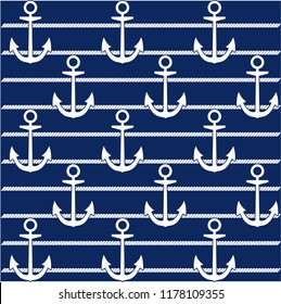 Continuous vector drawing about maritime. Abstract background, banner, wallpaper, wrapping paper, background, fabric and textile pattern can be used.